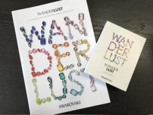 スワロフスキー2019S/S新作カタログとサンプル